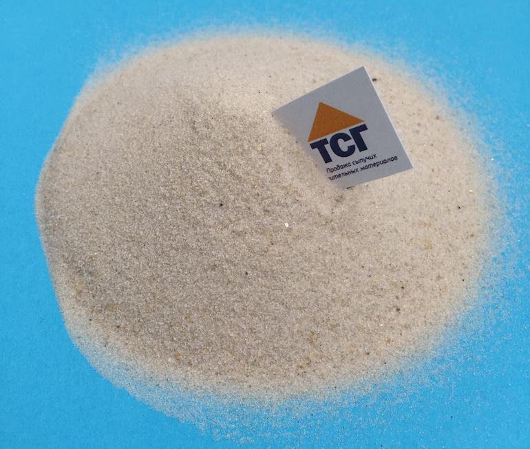 Белый песок для песочниц