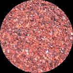 Гранитный отсев фракции 0-5 мм красного цвета