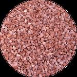 Гранитный отсев фракции 0-5 мм розового цвета